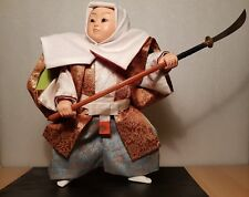 Vintage Japan Made Benkei (Monk) Warrior May doll (Gogatsu Ningyo) (25 cm)