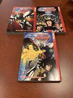Mobile Fighter G Gundam Volumes 1-3 Complete Series English Manga Tokyopop