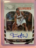 A3452 - 2018-19 Certified Signed Sealed Delivered #23 Tariq Abdul-Wahad Auto/199