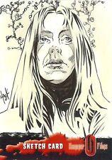 Hammer Horror Series 2 Sketch Card drawn by Robert Hack /7