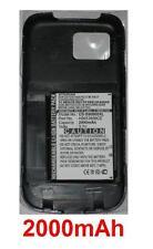 Coque+Batterie 2000mAh type AB653850CE Pour Samsung GT-I8000H Omnia II