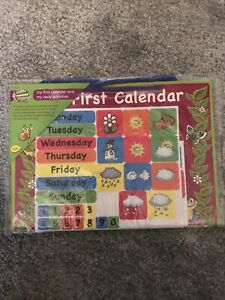 NEW My First Calendar Weather Days Of The Week Early Learning Family Fun