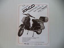advertising Pubblicità 1983 FACO e VESPA PX 125 E
