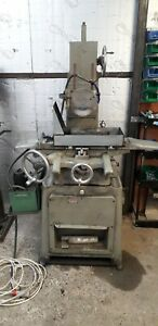 Surface grinder with Eclipse Magnetic chuck and soluble oil pump