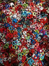 1,000+ Multi Colored Colors Aluminum Pop Tops, Tabs, Pull Tabs Beer, Soda Can