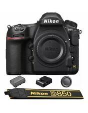 New ListingNew Nikon D850 Digital Slr Camera Body 45.7Mp 4K Fx +Free Grip Mb-D18 Us Version