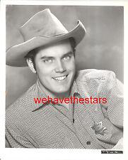 Vintage Jeffrey Hunter SEXY QUITE HANDSOME 50s Publicity Portrait