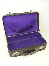 Schöner kleiner Koffer, alter Reisekoffer 50er Jahre, Kult Design