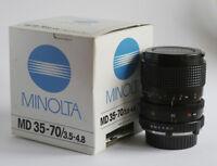 MINOLTA MD 35-70MM F3.5-4.8 - Manual focus lens. Compatible Sony