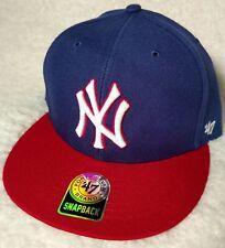 New Rare NY Yankees '47 Brand Red White Blue USA America Baseball Hat Cap MLB