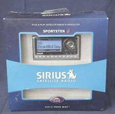 New Unopened Sirius Sportster 4 Sp4-Tk1 Sp4 Complete All Accessories