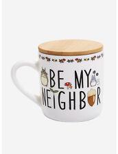 Studio Ghibli My Neighbor Totoro Be My Neighbor Mug With Lid