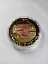Gedenkmünze Fußball EM 2008 Österreich/Schweiz- BERN  neu+OVP Triplex