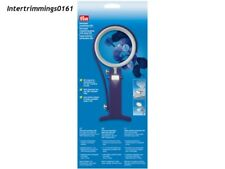 PRYM UNIVERSAL MAGNIFYING GLASS WITH LAMP LED X8-  610 380, FREE P&P
