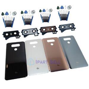 Battery Cover Glass Housing Back Door Lens Cover For LG G6 H870 H871 H872 US
