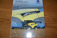 NEW  HOLLAND  CR920, CR940, CR960, CR970 TWIN  ROTOR  COMBINES  Literature