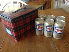 Vintage Goebel Soft Side Cooler with Six Cans