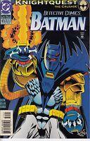 BATMAN: DETECTIVE COMICS 675.. NM-...Chuck Dixon...1994..Knightquest ...Bargain!