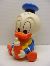 vintage Walt Disney's squeaky toy Baby Donald Duck shelcore 1986