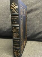 Fathers & Sons 1 V Of The 100 Greatest Books Ever Written Series Easton Press