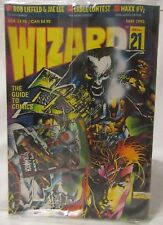 WIZARD THE GUIDE TO COMICS #21 MAY 1993