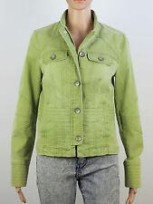 Waist Length Cotton Blend Regular Coats & Jackets for Women