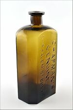 Antique Stoddard, NH Chapman's Genuine No 4 Salem St Boston Bottle