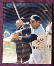 More details for yogi berra signed with coa and provenance stunning