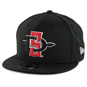New Era 9Fifty SDSU San Diego State Aztecs Snapback Hat (Black) Men's Cap