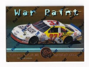 1997 Pinnacle Certified MIRROR GOLD #73 Jeremy Mayfield's Car SUPER SCARCE