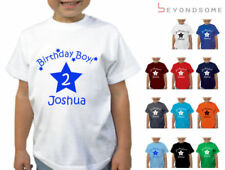 Boy Personalised T-Shirts & Tops (2-16 Years) for Boys