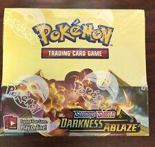Pokemon swsh 3 DARKNESS ABLAZE Sellado Booster Box * Canadá solamente *