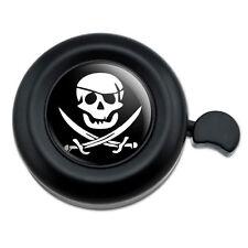 Pirate Skull Crossed Swords Jolly Roger - Bicycle Handlebar Bike Bell