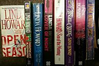 Linda Howard  8 Books  Dream Man Angel Creek Open Season Cover of Night