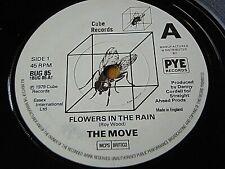 "THE MOVE - FLOWERS IN THE RAIN / BLACKBERRY WAY  7"" VINYL"