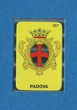 TUTTA ITALIA 1985 -FOL-BO- Figurina-Sticker n. 357 - PADOVA STEMMA -New