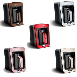 FAKIR Kaave Mokkamaschine Kaffeemaschine Mokka 735 Watt LED-Beleuchtung NEU