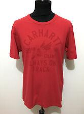 CARHARTT Maglietta Uomo Cotone College Cotton Man T-Shirt Sz.L - 50