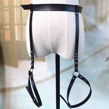 ME SEDUCE 04 Luxury Patent Leather Look Garter Belt