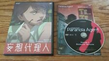 Paranoia Agent: Volume 1 - Enter Lil' Slugger (DVD) Satoshi Kon anime vol RARE