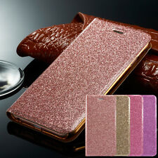 Magnetic Bling Glitter Leather Wallet Case Cover For Apple iPhone 8 7 plus 6s 5s
