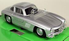 Nex Models 1/24 Scale Mercedes Benz 300SL Gullwing Silver Diecast model car
