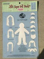 Jill's Paper Doll World Basic Adult Template Nwt Accu/Cut Systems