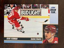 1993-94 Score Dream Team #16 Steve Yzerman - Detroit Red Wings - Rare
