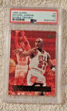 1995 Ultra Michael Jordan Double Trouble PSA 9 Mint #3