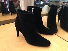 Rare Chaussures Bottines BALLY 650€ Suede Leather Boots Shoes Size EU 40.5
