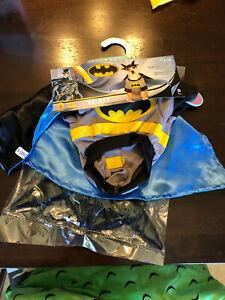 Official Batman Pet/Dog/Cat Halloween Costume - new w tags - X Small (Teacup)