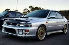 Car Bonnet Hood Bra + WRX LOGO Fits SUBARU IMPREZA GC8 1997 1998 1999 2000 2001