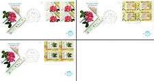 Netherlands Stamps - 3 First Day Covers from 1980s -  Filacept 88 Flowers 14