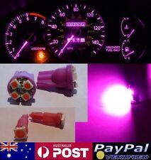 Pink LED Dash Gauge Light Kit - Suit Skyline R32 R33 + Gauge Pods